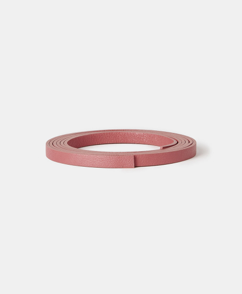 MAGNOLIA BELT IN REAL LEATHER - PINK