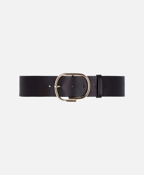 VENERE BELT IN LEATHER  BLACK